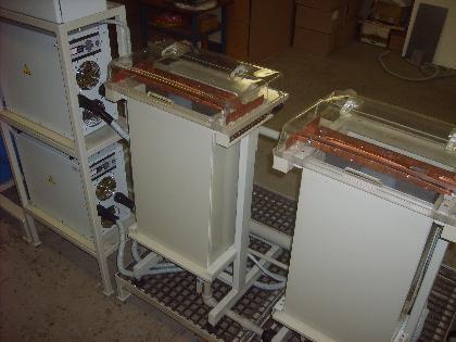 Емкость электролизеров с электрод кассетой