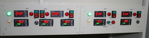 Линии оснащены системой автоматизированного контроля за параметрами технического процесса